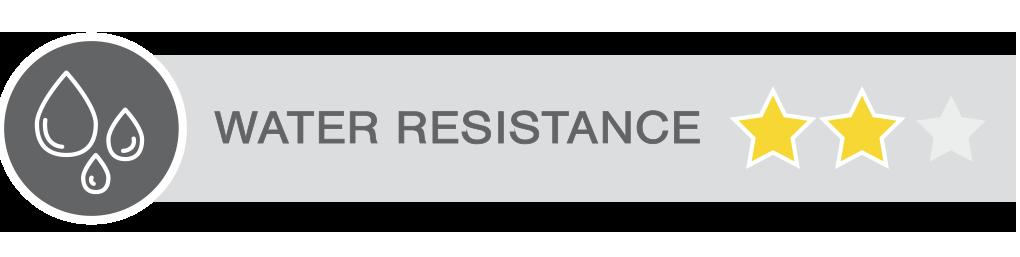 WATER RESISTANCE 2