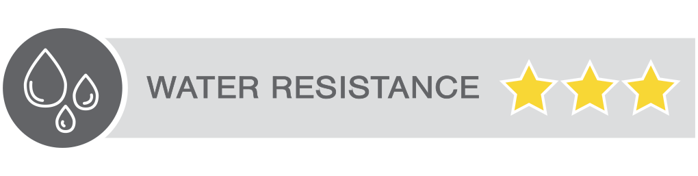 WATER RESISTANCE 3